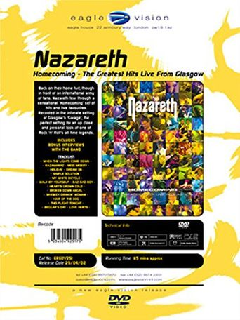 Nazareth: Homecoming - Live in Glasgow Poster