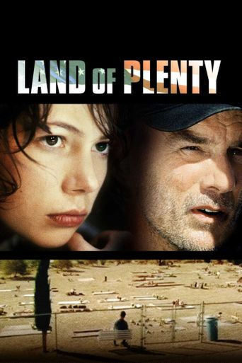 Land of Plenty Poster