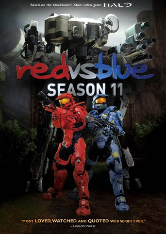 Red vs. Blue - Vol. 11 Poster