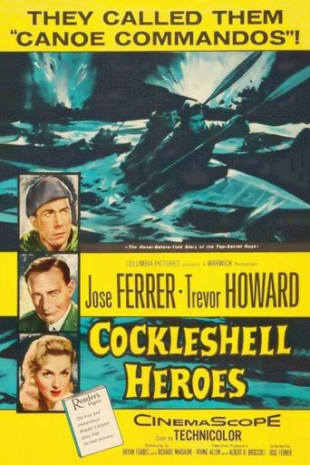 The Cockleshell Heroes Poster