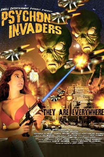 Psychon Invaders Poster