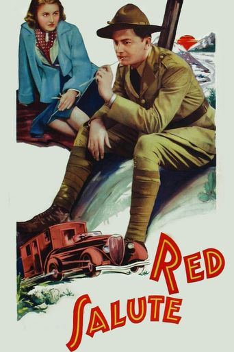 Red Salute Poster