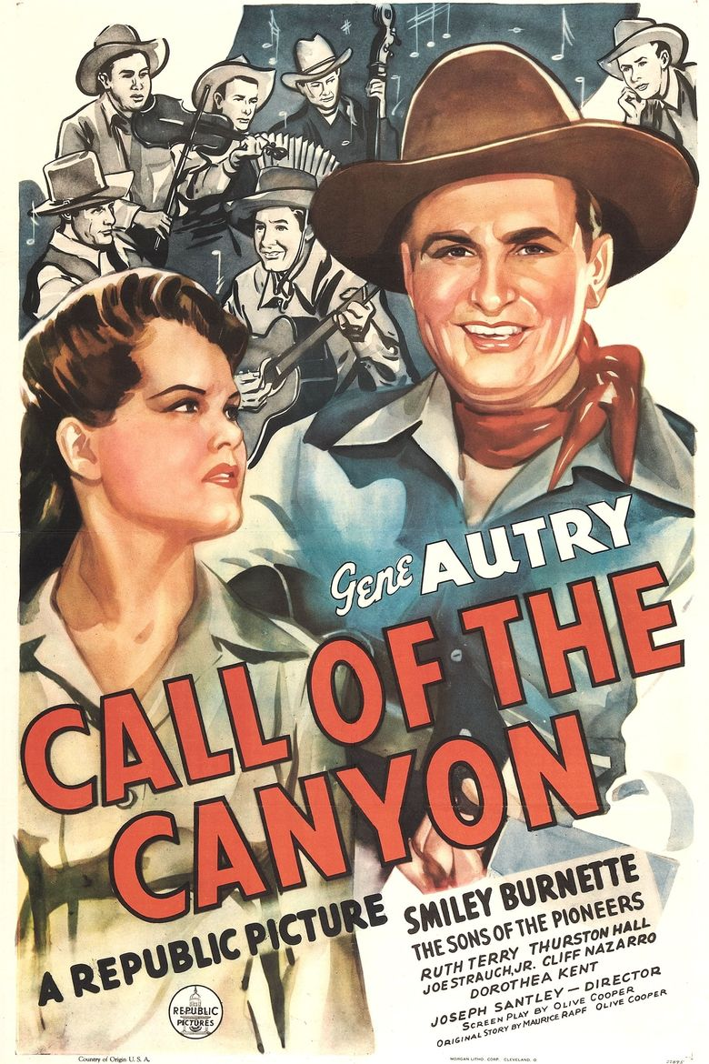 Call of the Canyon Poster