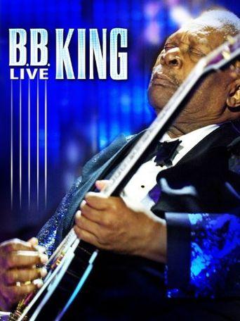 B.B. King: Live Poster