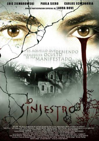 Lo siniestro Poster
