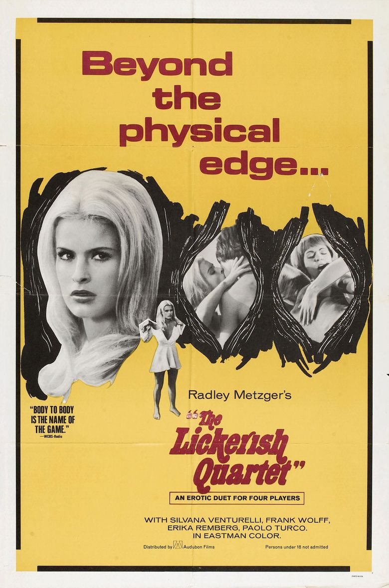 The Lickerish Quartet Poster