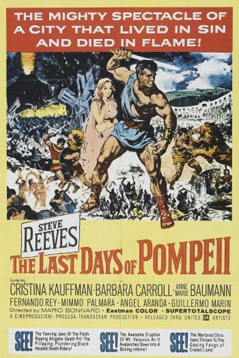 The Last Days of Pompeii Poster
