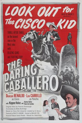 The Daring Caballero Poster