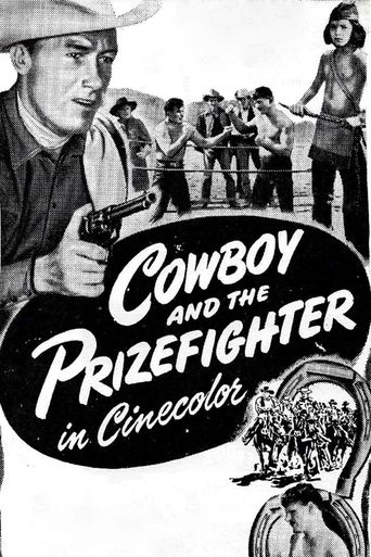 Cowboy and the Prizefighter Poster