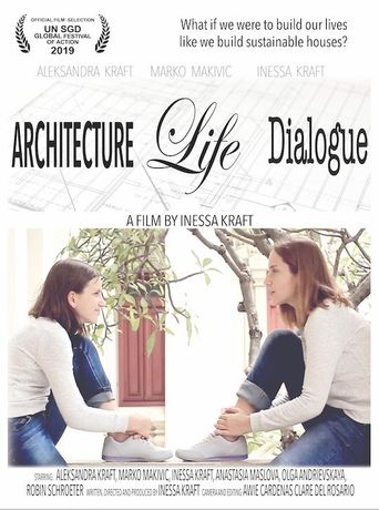 Architecture Life Dialogue Poster