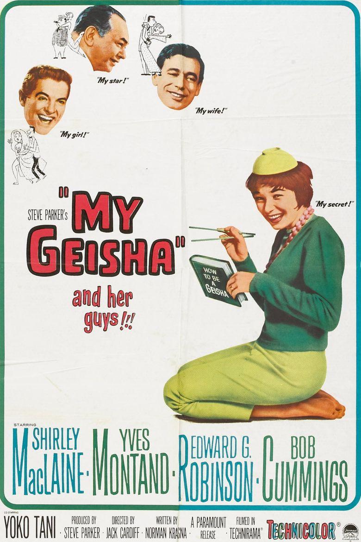 My Geisha Poster