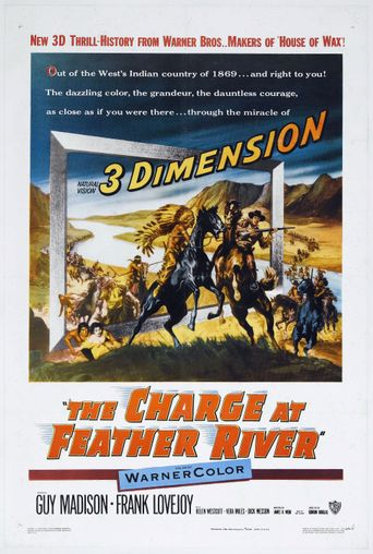 The Charge at Feather River Poster