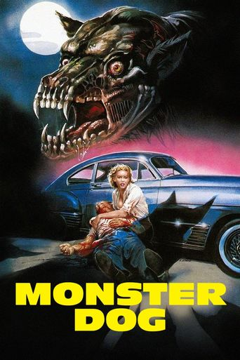 Monster Dog Poster