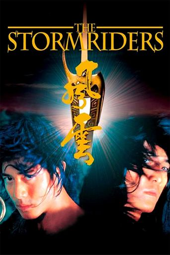 The Storm Riders Poster