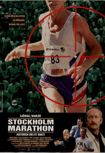 Stockholm Marathon Poster