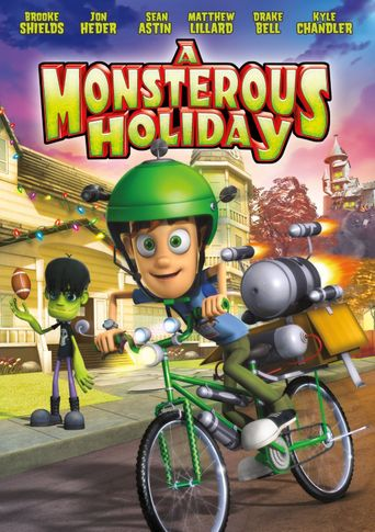 A Monsterous Holiday Poster