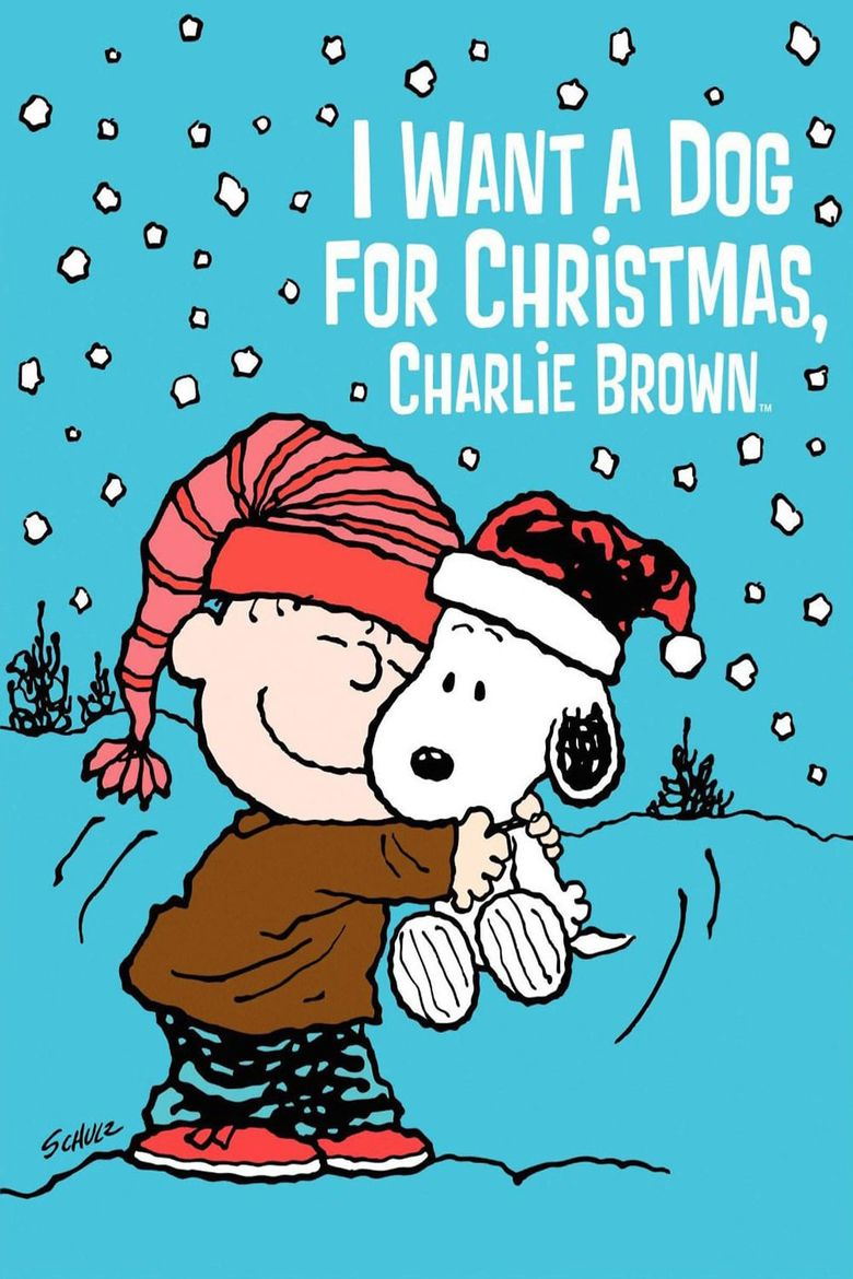 I Want a Dog for Christmas, Charlie Brown Poster