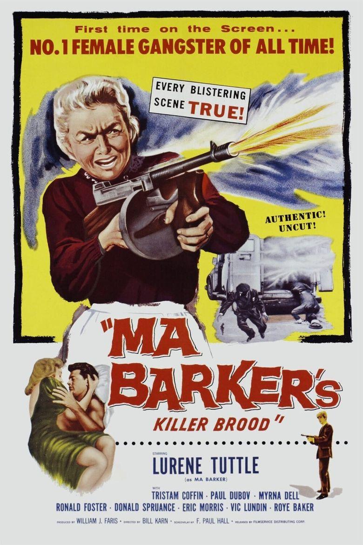Ma Barker's Killer Brood Poster