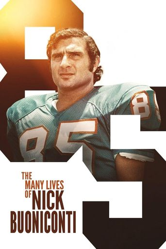 The Many Lives of Nick Buoniconti Poster
