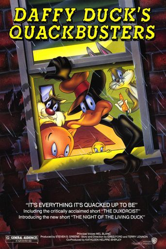 Daffy Duck's Quackbusters Poster