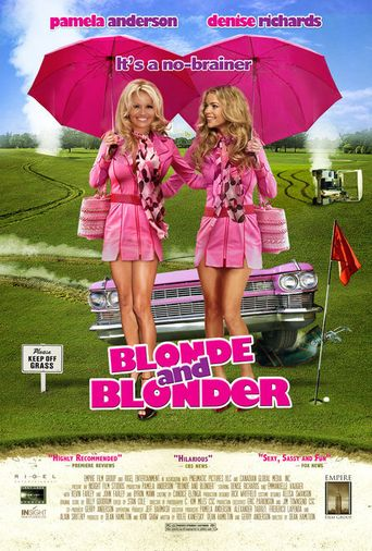 Blonde and Blonder Poster