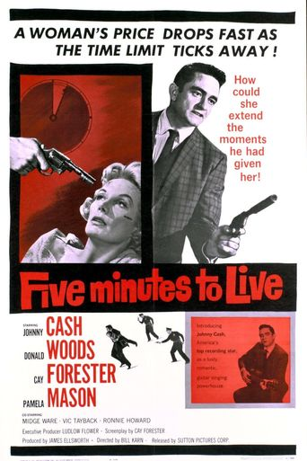 Five Minutes to Live Poster