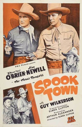 Spook Town Poster