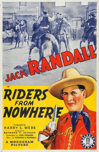 Riders from Nowhere Poster