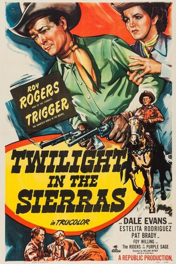 Twilight in the Sierras Poster