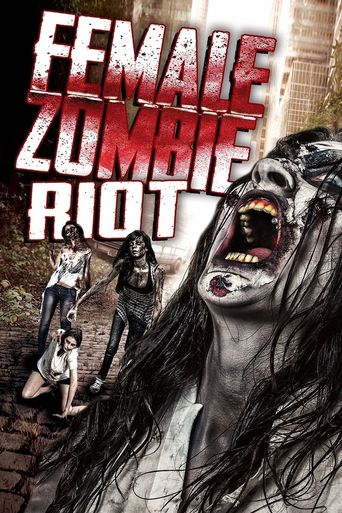 Female Zombie Riot Poster