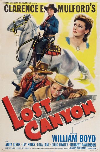 Lost Canyon Poster