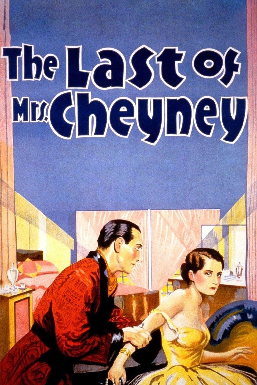 The Last of Mrs. Cheyney Poster