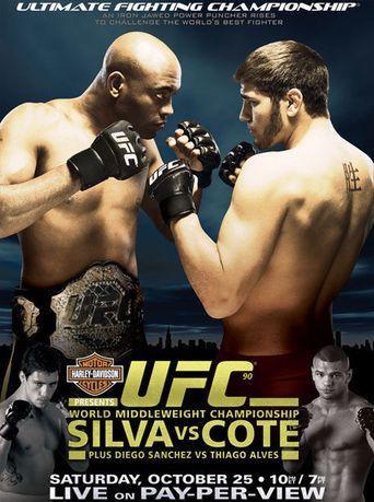 UFC 90: Silva vs. Cote Poster
