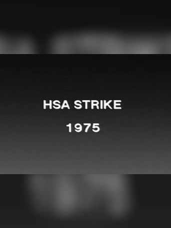 HSA Hospital Strike '75 Poster