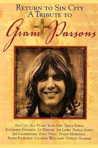 Return to Sin City: A Tribute to Gram Parsons Poster