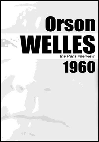 Orson Welles: The Paris Interview Poster