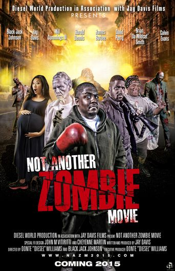Not Another Zombie Movie....About the Living Dead Poster