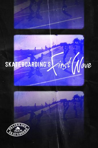 Skateboarding's First Wave Poster