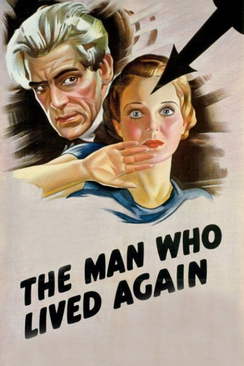 The Man Who Changed His Mind Poster