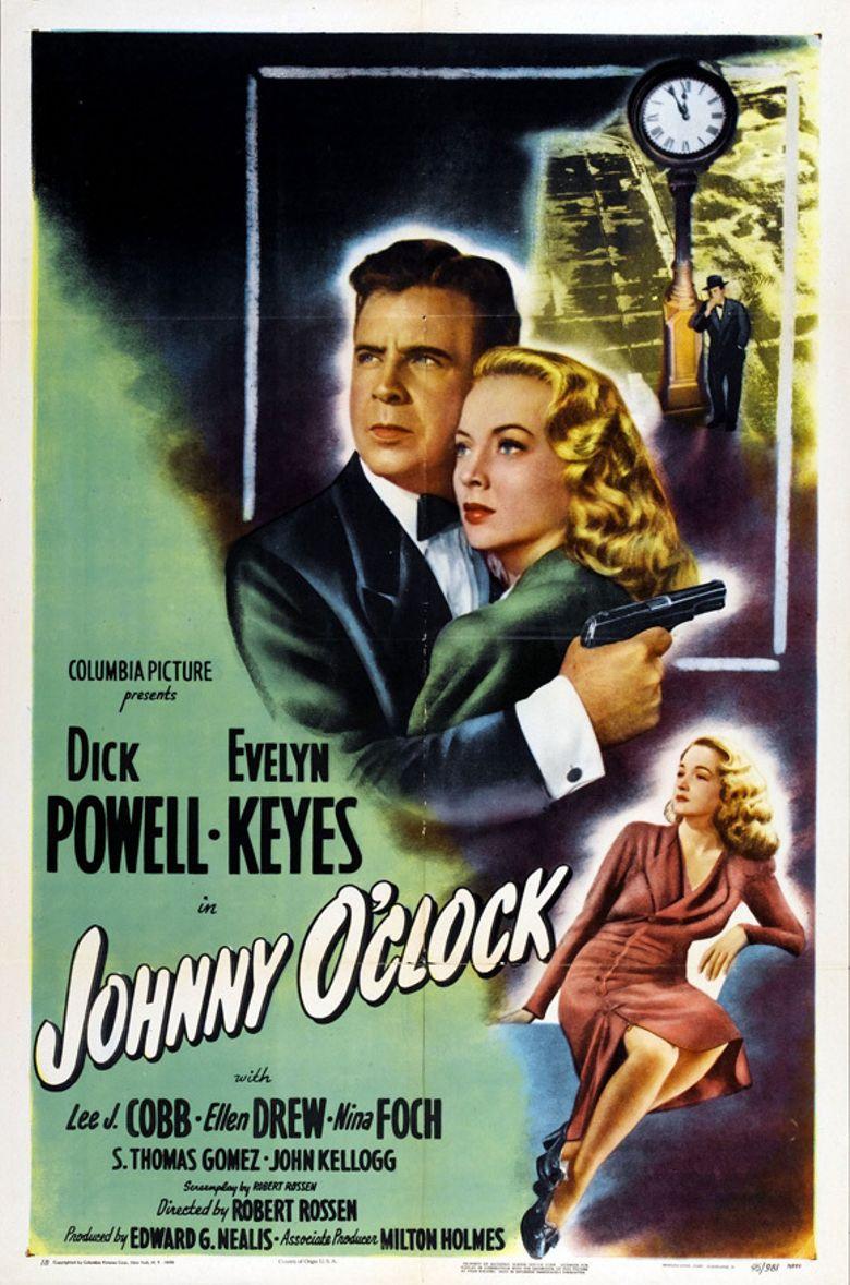 Johnny O'Clock Poster