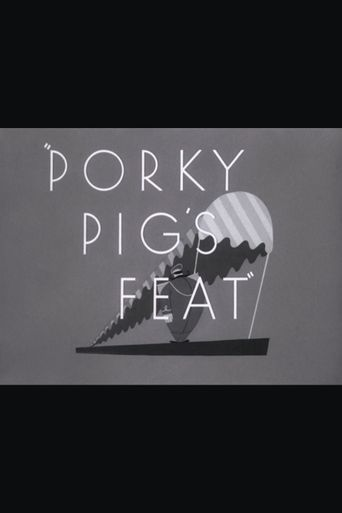 Porky Pig's Feat Poster