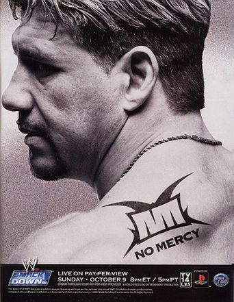 WWE No Mercy 2005 Poster