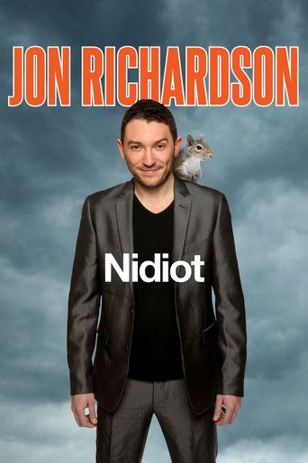 Jon Richardson Live: Nidiot Poster