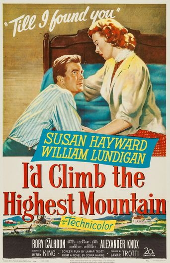 I'd Climb the Highest Mountain Poster