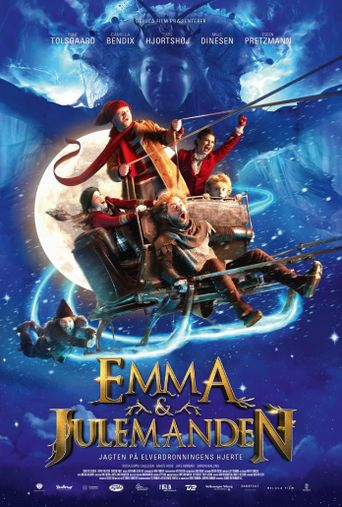 Emma og Julemanden - Jagten på Elverdronningens hjerte Poster