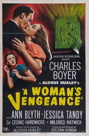 A Woman's Vengeance Poster