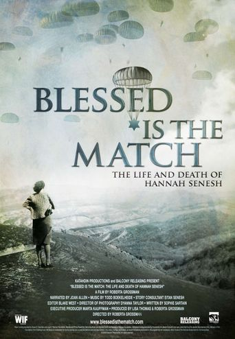 Blessed Is the Match: The Life and Death of Hannah Senesh Poster