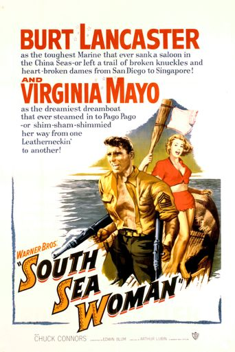 South Sea Woman Poster
