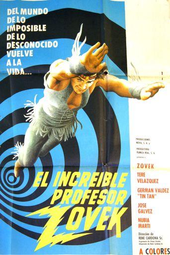 The Incredible Professor Zovek Poster