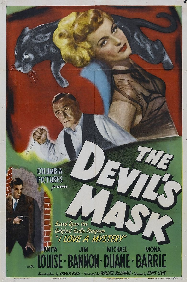 The Devil's Mask Poster